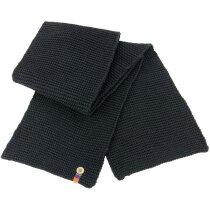 Bufanda con botón alta calidad personalizada negra