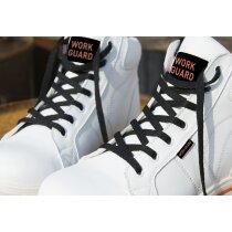 Botas de seguridad blancas personalizada blanca