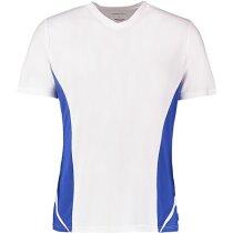 Camiseta Team Cuello V Gamegear Cooltext hombre blanco/azul