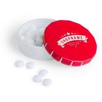 Dispensador de caramelos en forma circular