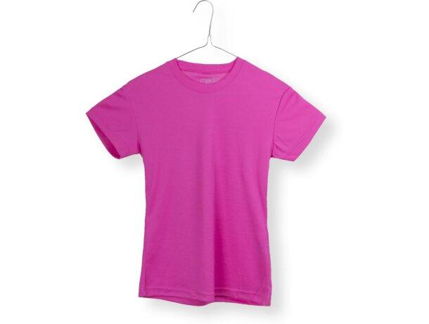 Camiseta de mujer técnica fucsia