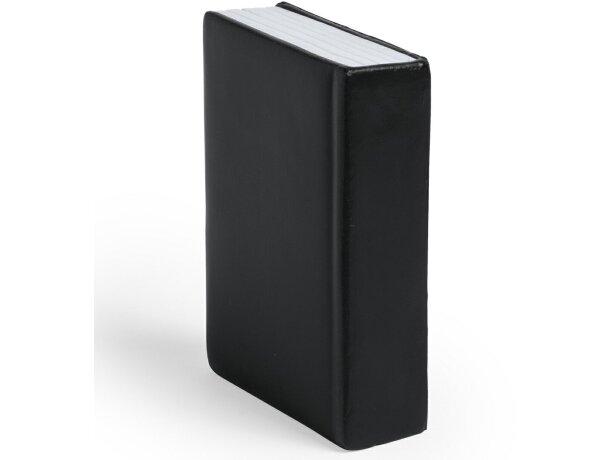 Antiestrés forma libro personalizado negro