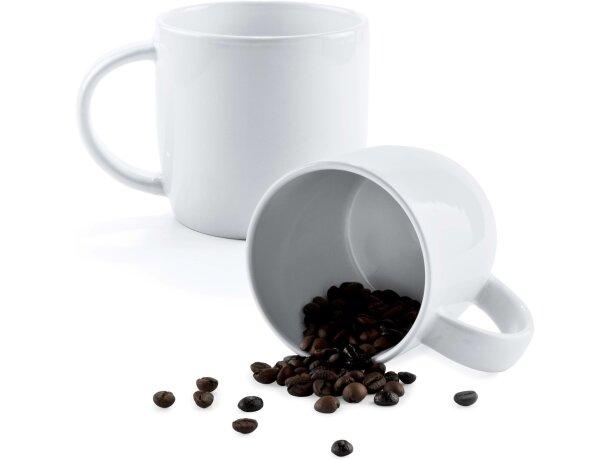 Taza de cerámica lisa 380 ml