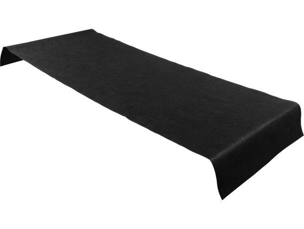 Salvamantel de no tejido individual personalizado negro