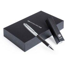 conjunto de bolígrafo y power rank Antonio Miró personalizado