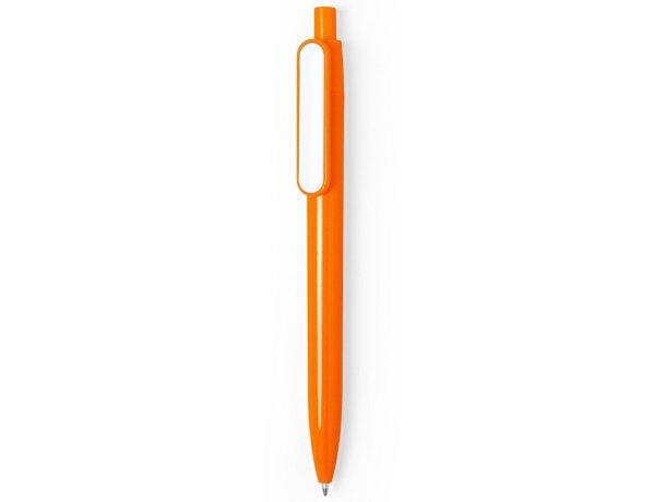 Bolígrafo naranja