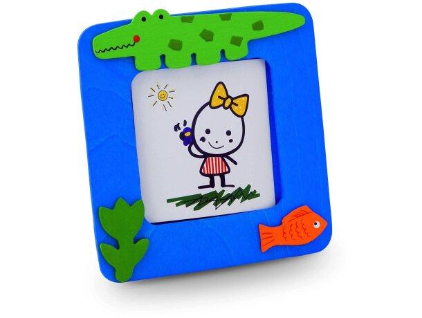 Portafotos infantil 62x62 mm personalizado