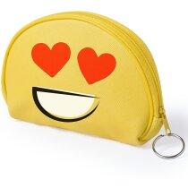 Monedero amarillo emoticono