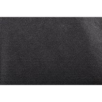 Mantel individual de no tejido cuadrado personalizado negro