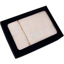 Set de toallas de algodón 400 gr personalizada