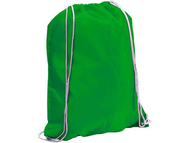 Spook mochila saco con cuerdas barata verde
