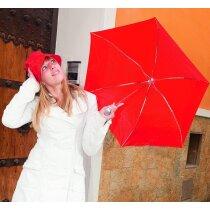 Set de lluvia con paraguas y gorro impermeable personalizado