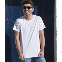 Camiseta unisex manga corta tejido técnico 135 gr para empresas