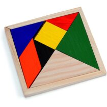 Puzzle De Madera De Colores Personalizado