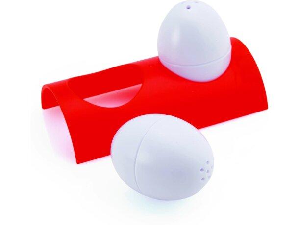 Set de salero y pimentero huevo personalizado