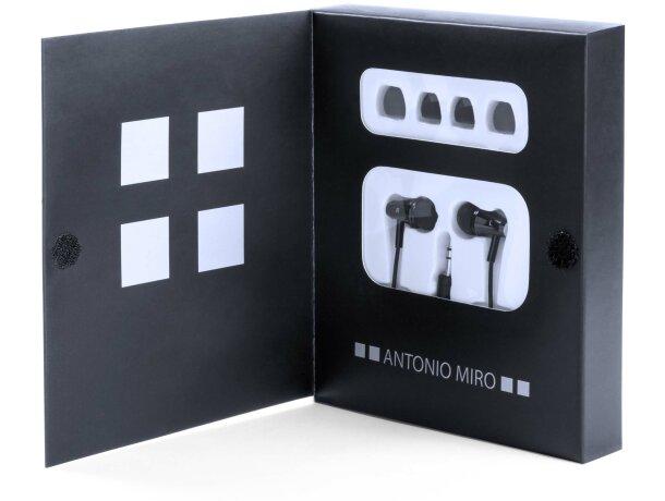 Auriculares ligeros y modernos de la marca Antonio Miró