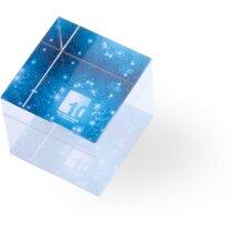 Pisa papeles cuadrado de cristal personalizado