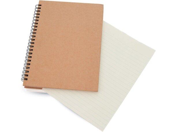 Libreta con tapas de cartón de colores personalizada
