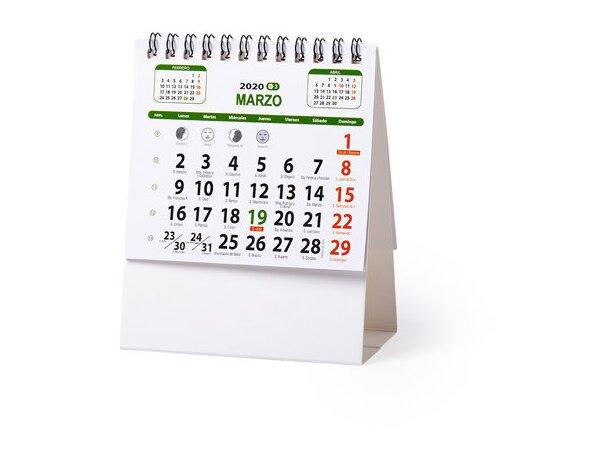 Calendario personalizado Sobremesa Ener con logo