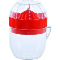 Exprimidor de naranjas con jarra personalizado rojo