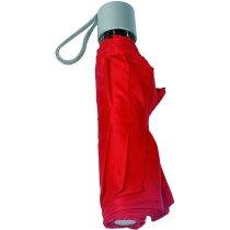 Paraguas de bolso plegable personalizado rojo