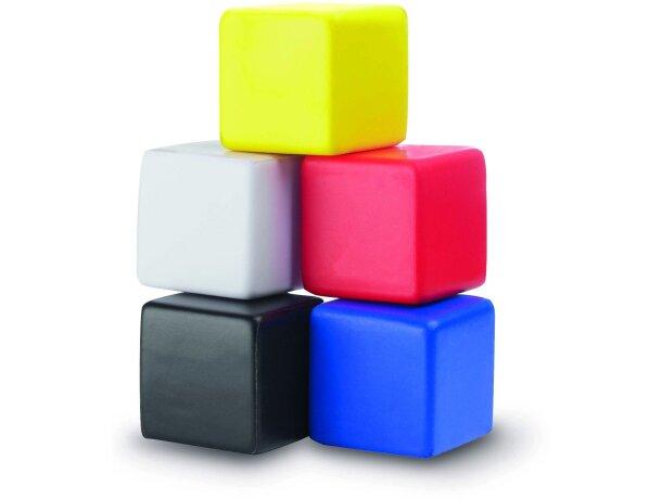 Antiestrés con forma de cubo personalizado