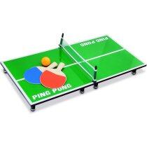 Mini ping pong con raquetas y bola personalizado