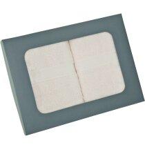 Set de toallas de algodón 400 gr 2 piezas personalizado