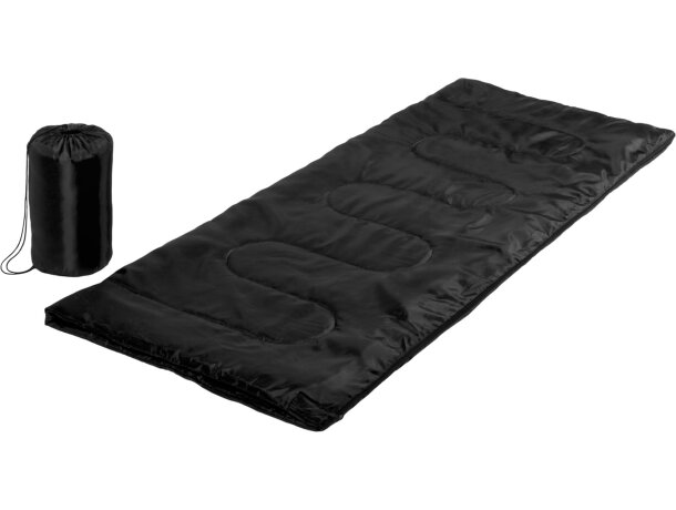 Saco de dormir personalizado negro