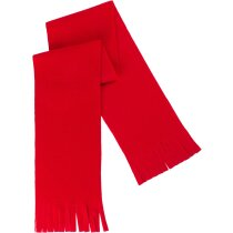 Bufanda de tejido liso en colores personalizada