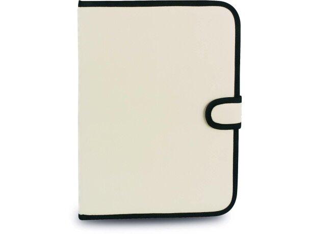 Carpeta de poliester con cierre de broche personalizada