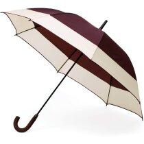 Paraguas combinado en negro y color personalizado