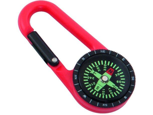 Brújula mosquetón en varios colores personalizada