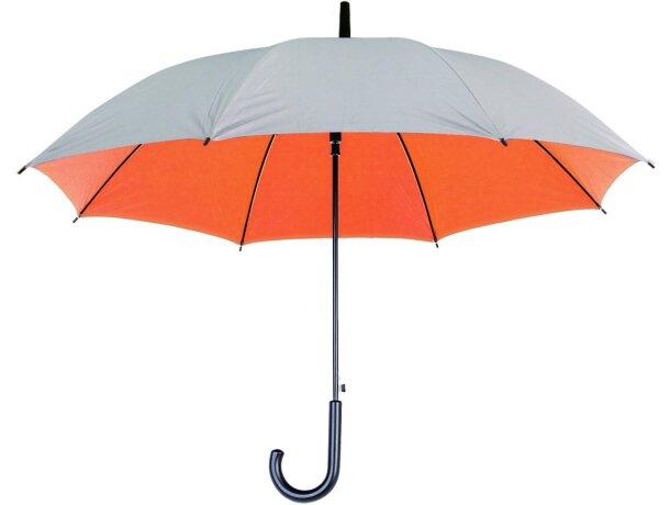 Paraguas con interior de colores personalizado