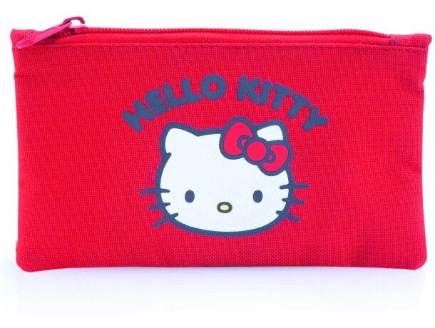 Estuche de hello kitty en poliester personalizado