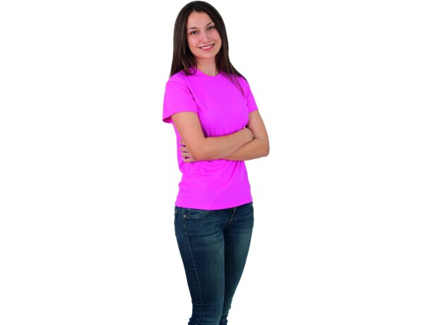 Camiseta de mujer técnica