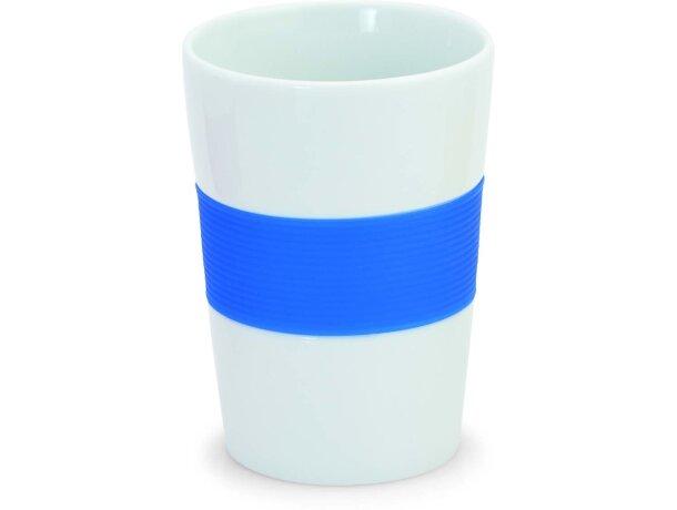 Vaso taza de cerámica con banda de silicona personalizada