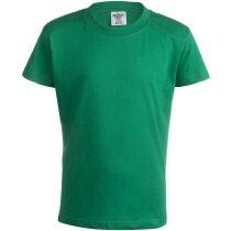 """Camiseta Niño Color """"keya"""" Yc150 Barata Verde"""