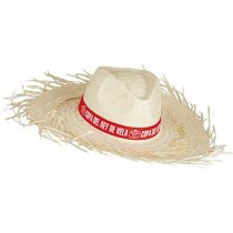 Sombrero de paja filagarchado