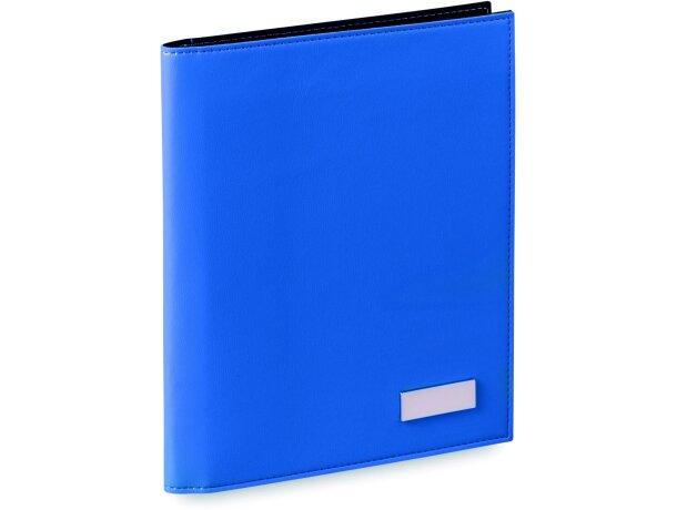 Carpeta de polipiel de colores con bloc personalizada