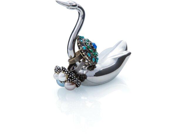 Porta anillos gatito de metal personalizada
