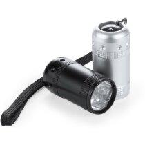Linterna de aluminio de 6 leds original