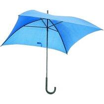 Paraguas formato cuadrado de 72 cm de lado