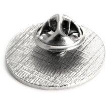 Pin de metal con acabado resina