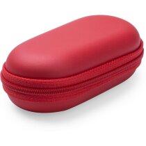 Estuche con cargador 2200 mah en varios colores personalizado rojo