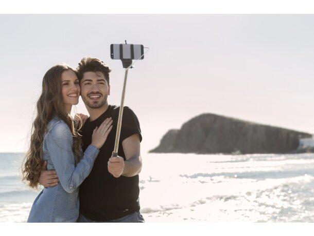 Palo para selfie en acero y varios colores personalizado azul