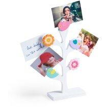 Portafotos de madera para niños personalizado