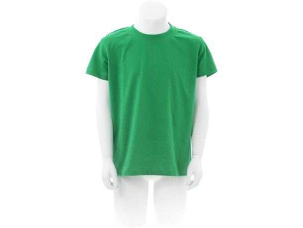 "Camiseta Niño Color ""keya"" Yc150 personalizada Verde"