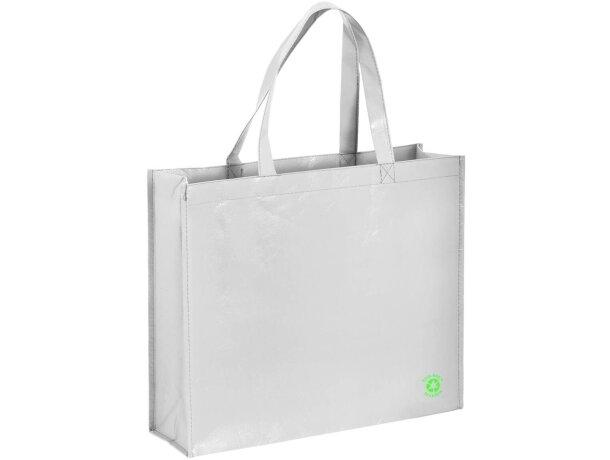 Bolsa de la compra non woven laminado blanca
