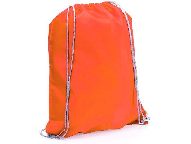 Spook mochila saco con cuerdas economica naranja